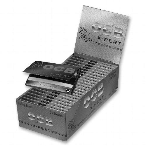 OCB Zigarettenpapier X-PERT Silber Kurz 1x100 Blättchen