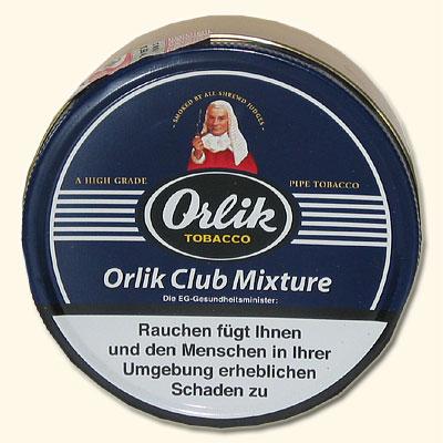 Orlik Club Danish Mixture Pfeifentabak 100g Dose
