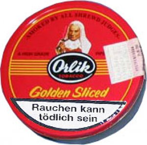 Orlik Golden Sliced Pfeifentabak 100g Dose