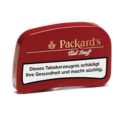 Packards Club Snuff 6,5g Dose Schnupftabak