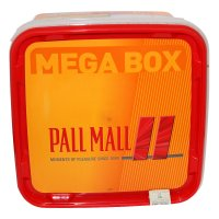 Pall Mall Allround Rot Mega Box 170g Dose Volumentabak