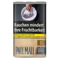 Pall Mall Authentic Blau XL 60g Dose Volumentabak