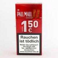 Pall Mall Filterzigarillos Rot mit Naturdeckblatt (Artikel wird nicht mehr Hergestellt)
