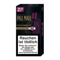 Pall Mall Wild Click Filterzigarillos 10er Packung (Artikel wird nicht mehr hergestellt)