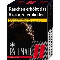 Pall Mall Zigaretten Black Edition XL 24er Packung (Artikel wird nicht mehr hergestellt)