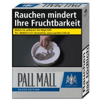 Pall Mall Zigaretten Silver Edition 21er Packung