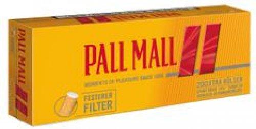 Pall Mall Zigarettenhülsen Allround Rot 200 Stück