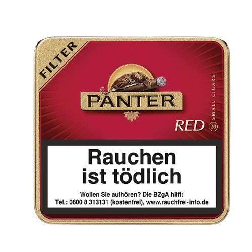 Panter Red Filter Zigarillos 20er