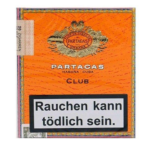 Partagas Club Cigarillos 20 Stück