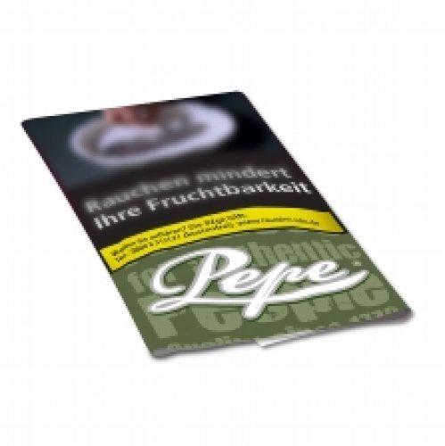 Pepe Tabak ohne Zusatzstoffe  Virginia Rich Green 30g Päckchen Feinschnitt