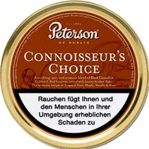Peterson Pfeifentabak Connoisseurs Choice 50g Dose
