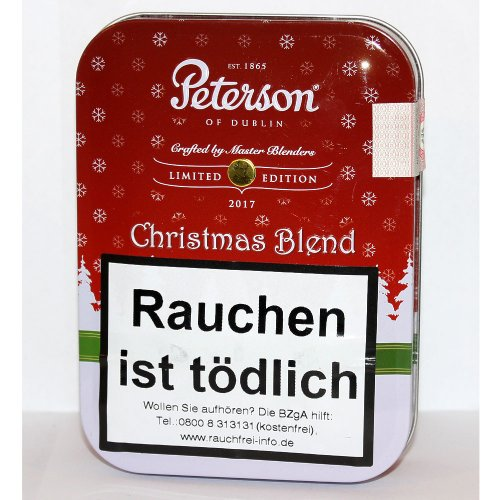 Peterson of Dublin Pfeifentabak Christmas Blend 2017 100g Dose
