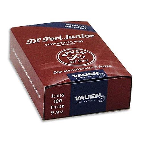 Pfeifenfilter Dr Perl junior Aktivkohlefilter 100 Stück
