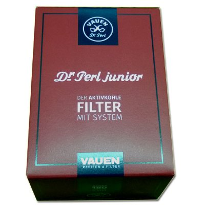 Pfeifenfilter Dr Perl junior Aktivkohlefilter 180 Stück