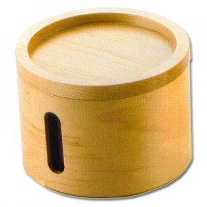 Pfeifentabak-Topf Holz Natur für Pfeifen- und Zigarettentabak