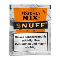 Pöschls Mix Snuff 10g Päckchen Schnupftabak