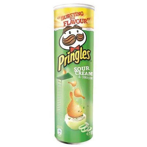 Pringles Sour Cream & Onion 190g Dose