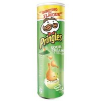Pringles Sour Cream & Onion 190g Dose