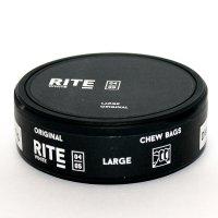 RITE Original White Large Chewing Bags Kautabak