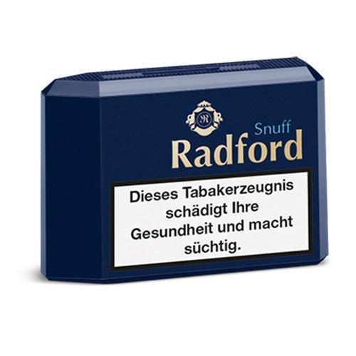 Radford Premium Snuff 10g Dose Schnupftabak