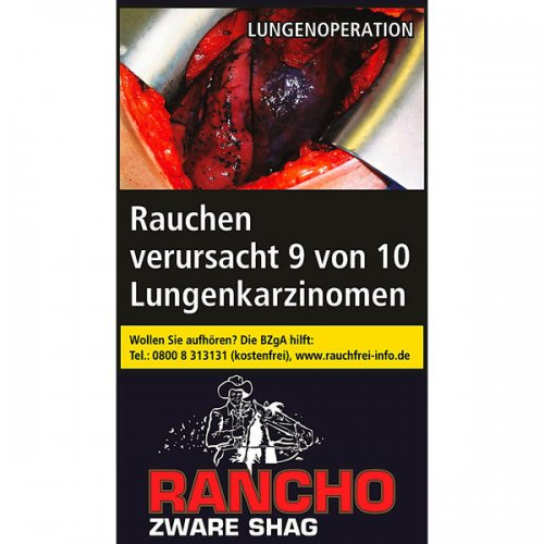 Rancho Zware Shag 40g Päckchen Feinschnitt