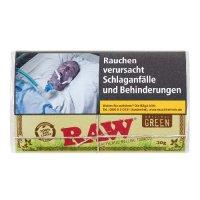 Raw Tabak ohne Zusatzstoffe Authentic Green (ehem.Organic) 30g Päckchen Feinschnitt