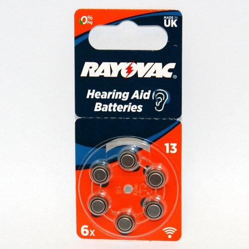 Rayovac Hörgerätebatterie R13AE