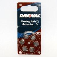Rayovac Hörgerätebatterie R312AE