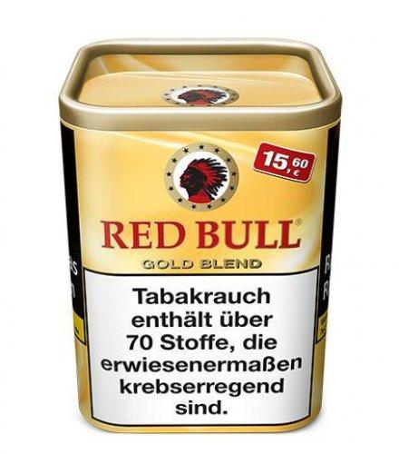 Red Bull Tabak Gold Blend 120g Dose Feinschnitt