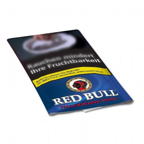 Red Bull Tabak Halfzware Shag 40g Päckchen Feinschnitt