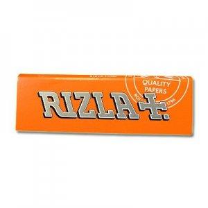 Rizla Zigarettenpapier Orange 1x50 Blättchen Einzelpackung