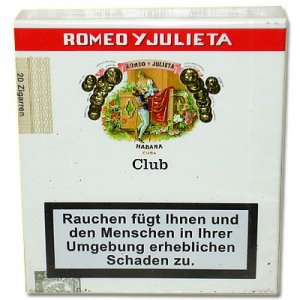 Romeo und Julietta Club Cigarillos