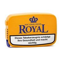 Royal Mac Craig Snuff 7g Dose Schnupftabak