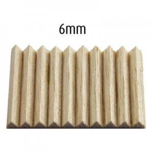 Savinelli Balsaholzfilter für Pfeife 6mm 100 Stk.