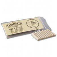 Savinelli Balsaholzfilter für Pfeife 6mm 20 Stk.