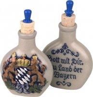 Schnupftabakflasche Bayernwappen
