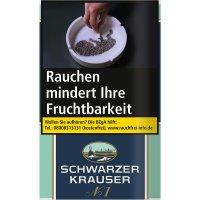 Schwarzer Krauser Tabak No 1 31g Päckchen Feinschnitt