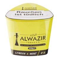 Shisha Tabak Al Wazir Lemon & Mynt No2 - 250g Dose