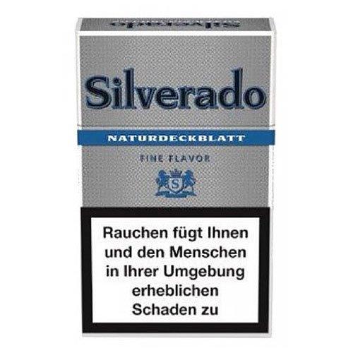 Silverado Filter Cigarillos Blau Fine Flavor mit Naturdeckblatt 17er
