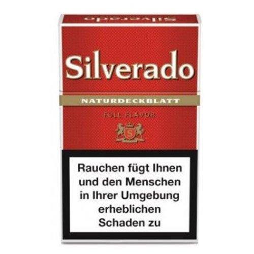 Silverado Filter Cigarillos Rot Full Flavor mit Naturdeckblatt 17er
