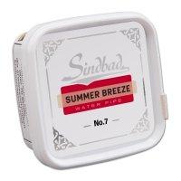 Sindbad Shisha Tabak Summer Breeze No 7 Erdbeere 200g Dose