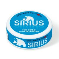 Sirius Ice Cold White Dry Portion Chewing Bags