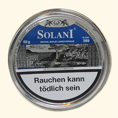 Solani Pfeifentabak Blau 50g Dose