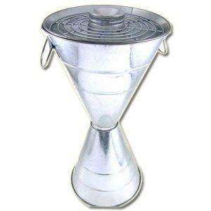 Standascher Metall galvanisiert