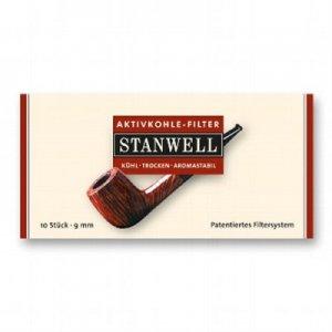 Stanwell Aktivkohlefilter Pfeifenfilter 10 Stück