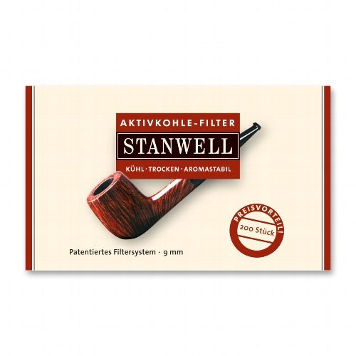 Stanwell Aktivkohlefilter Pfeifenfilter 200 Stück