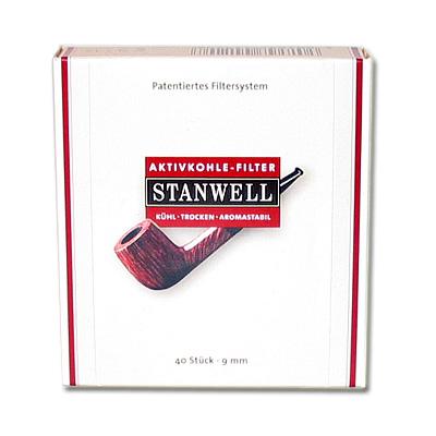 Stanwell Aktivkohlefilter Pfeifenfilter 40 Stück