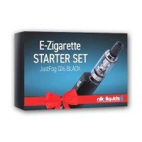 Starter Set JUSTFOG E-Zigarette Q16 Schwarz 900 mAh 1.8 Ohm