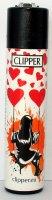 Clipper Feuerzeug Street Art Heart 2 - 2/4