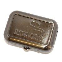 Taschenaschenbecher Smoking Silber